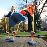 Stomp Walker peg stilts