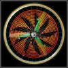 Hokey Spokes inverted flower pattern