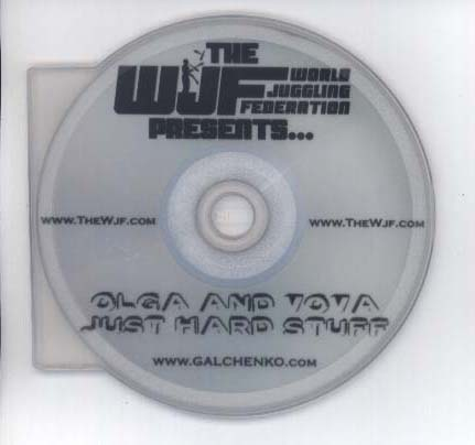 Olga & Vova Just Hard Stuff DVD