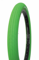 Green Gusset 20 inch unicycle tire