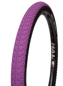 Halo 26 inch purple unicycle tire